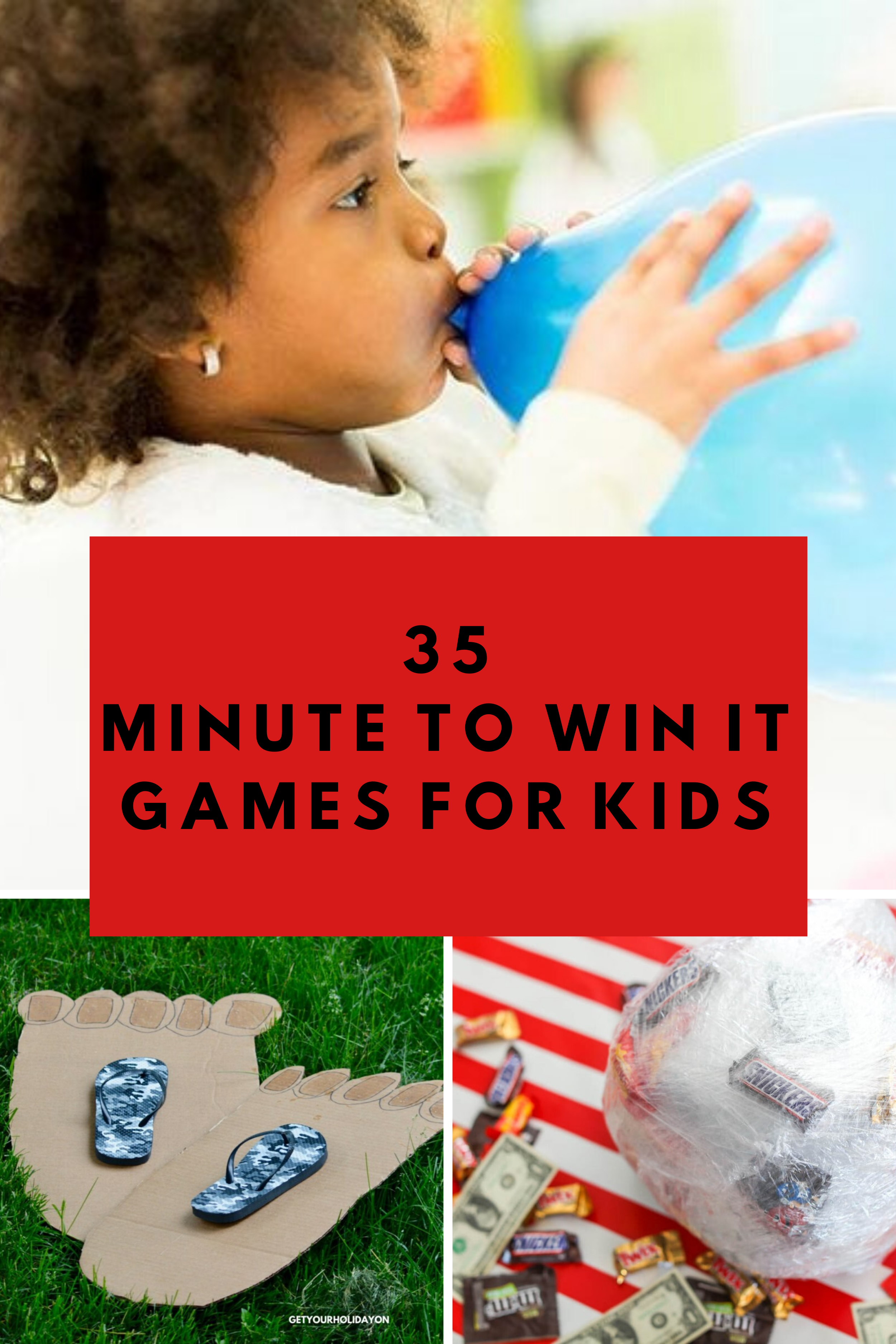 35 Minute to Win It Games for Kids