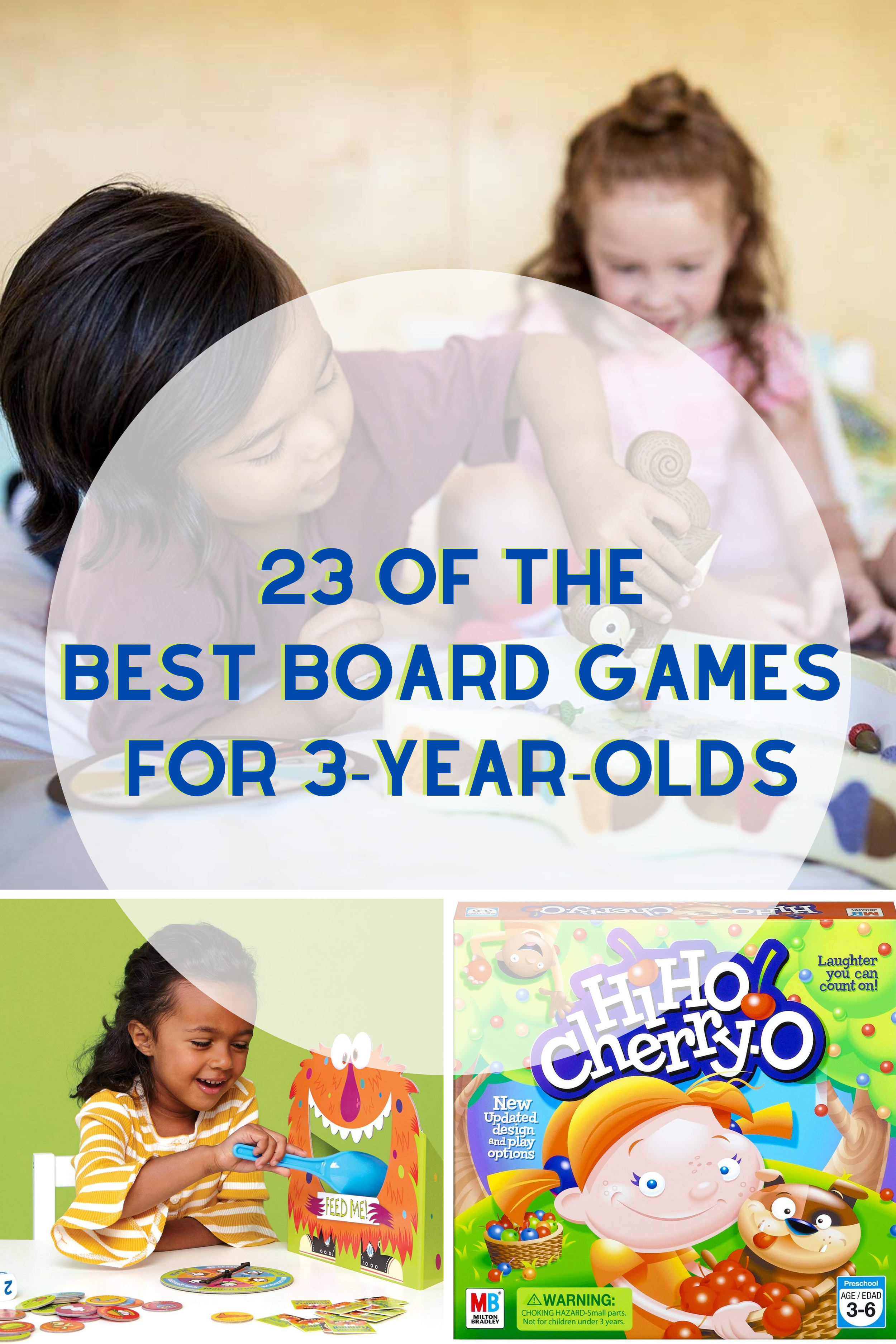 23 of the Best Board Games for 3 Year Olds