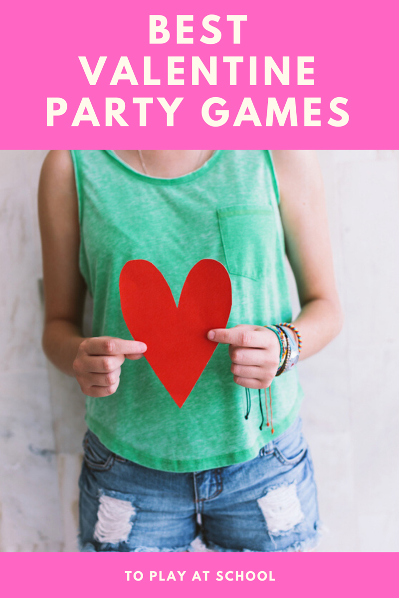 Best Valentine party games to play at school with supplies