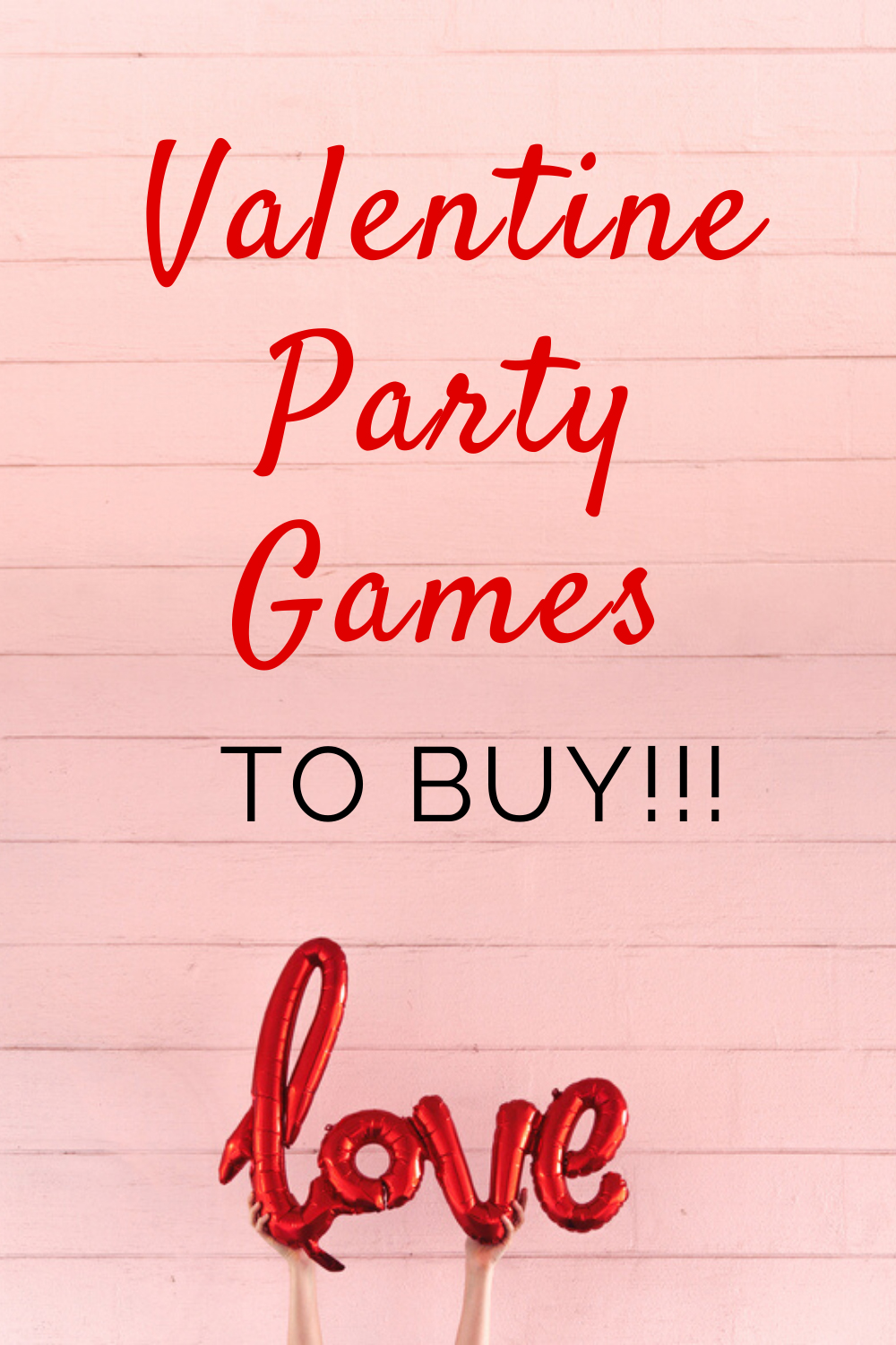 The best Valentine Party Games to buy