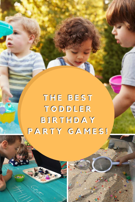 Best Toddler Birthday Party games