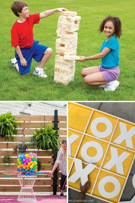 Yard Board Games