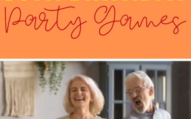 The Funniest 50th Birthday Party Game Ideas