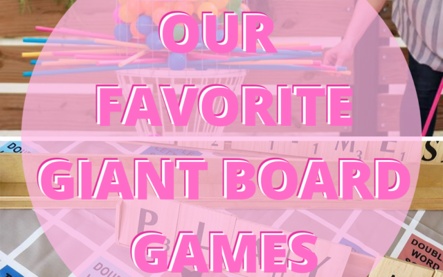 The Best Giant Board Games