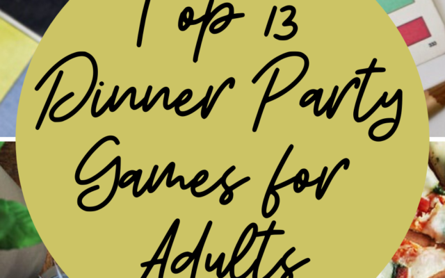 Dinner Party Games for Adults