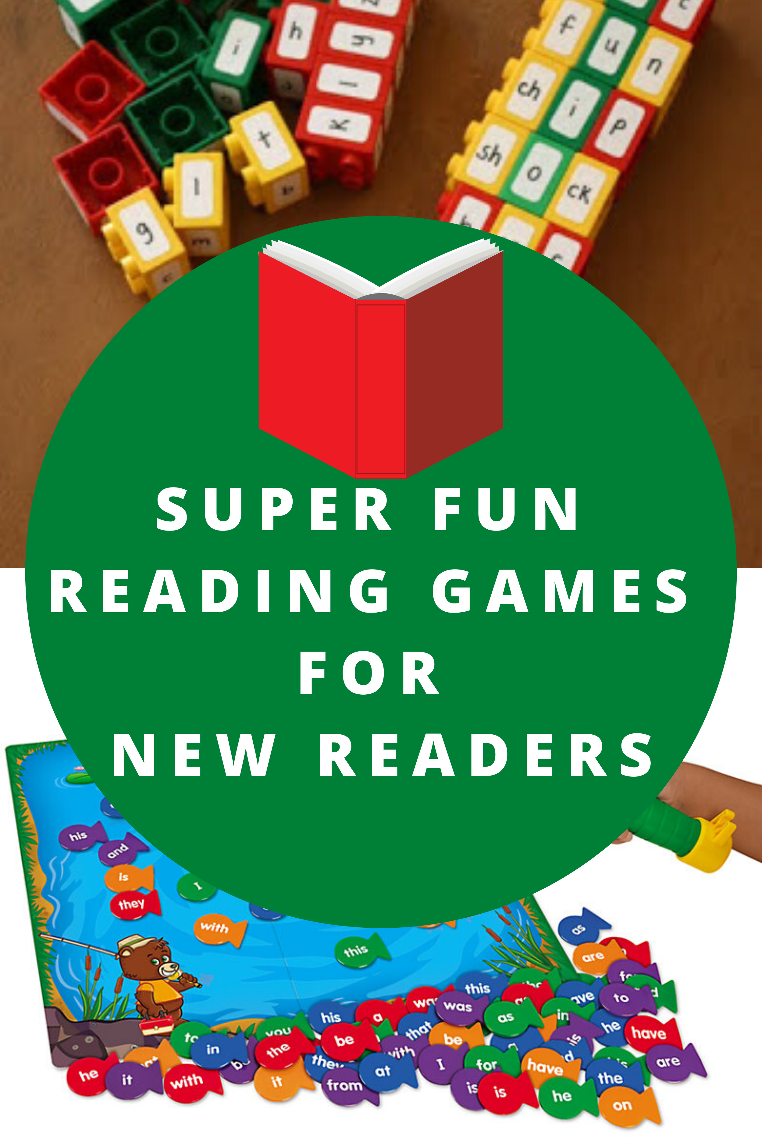 Reading Games for New Readers