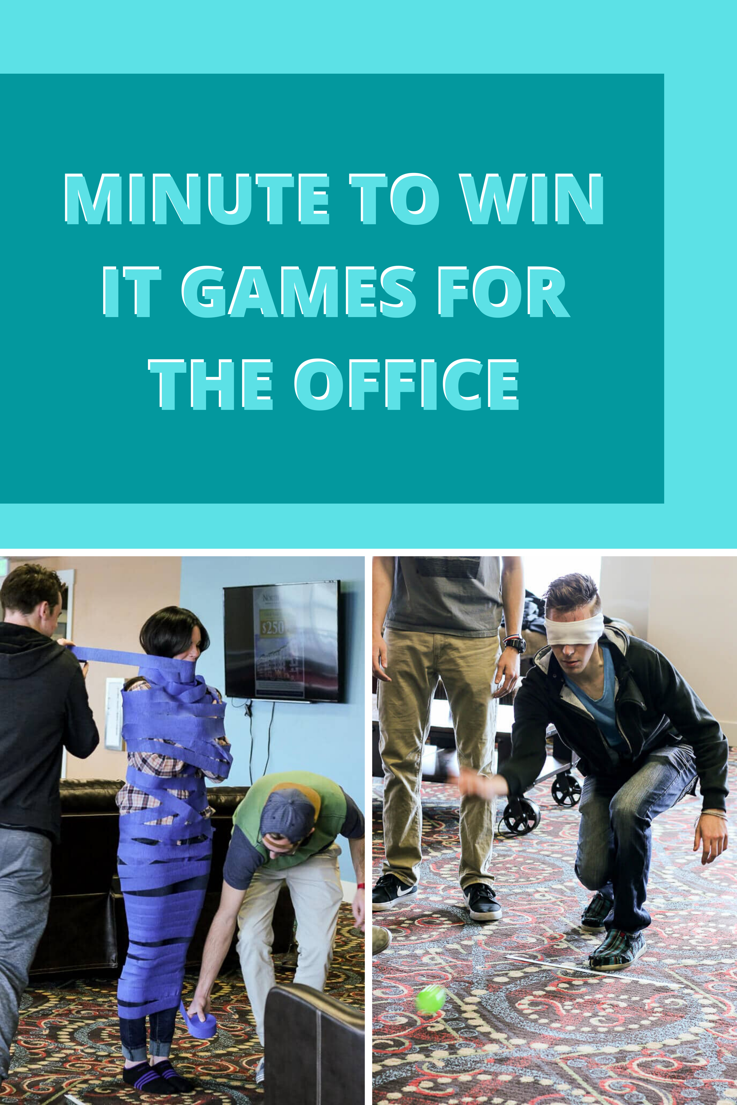 The Best Minute to Win It Games for the Office