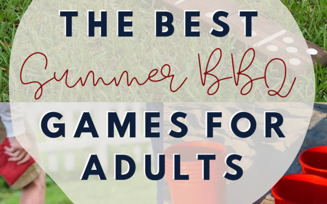 summer bbq games for adults