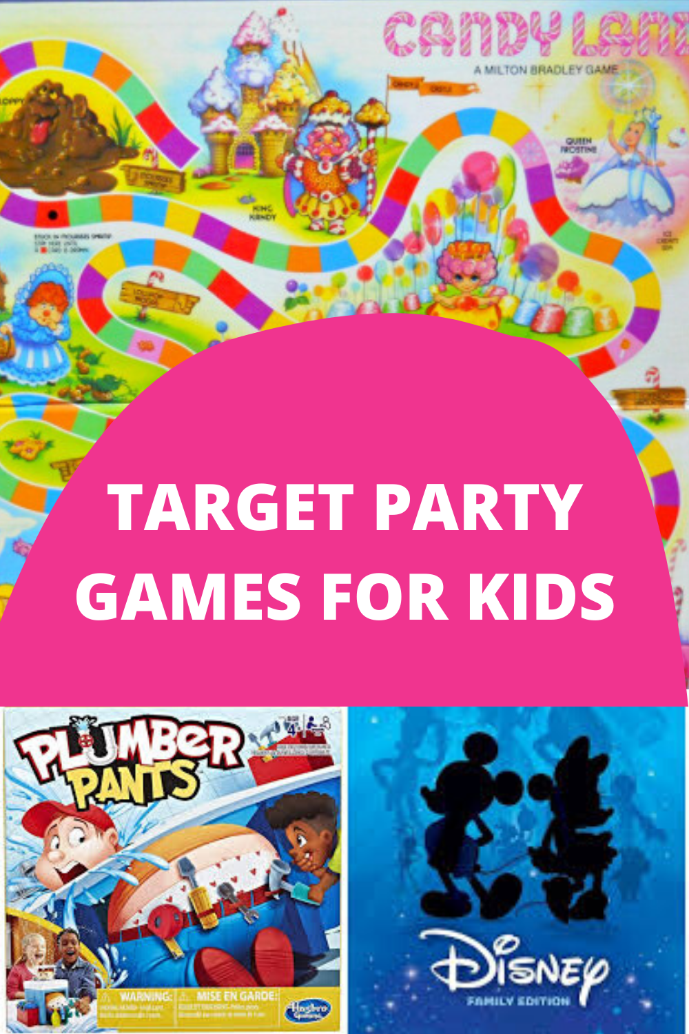 Target Party Games for Kids