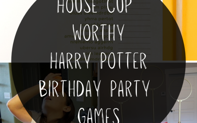 Harry Potter Birthday Party Games