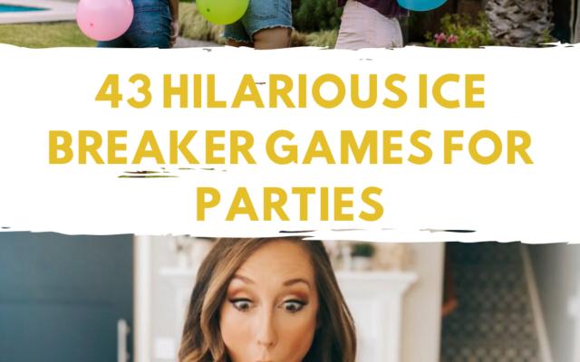 Ice Breaker Games for Parties