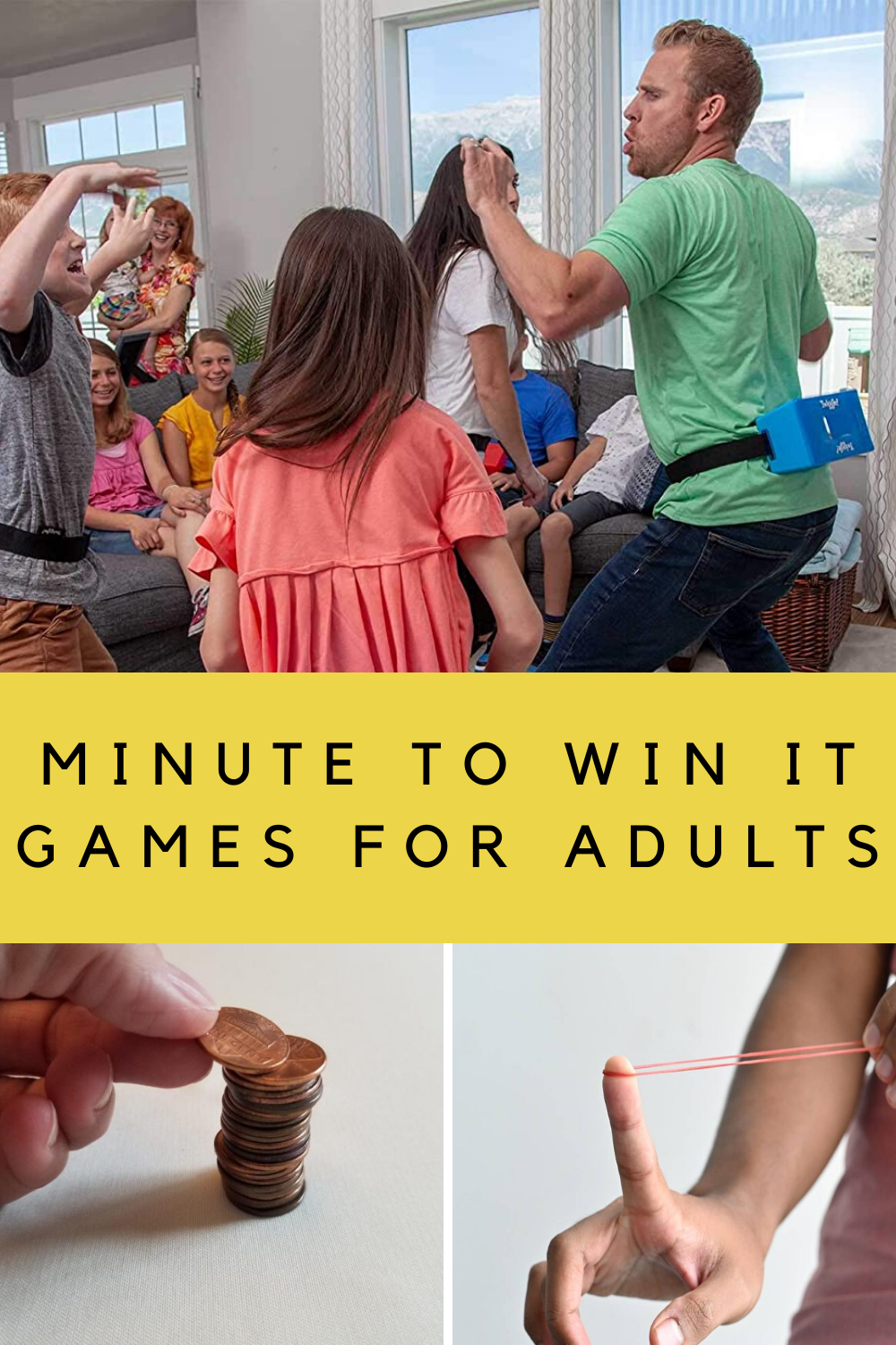 Minute to Win It Games for Adults