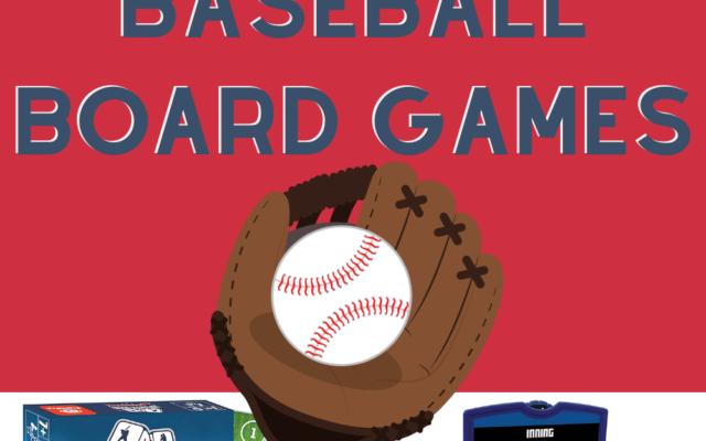 Baseball Board games