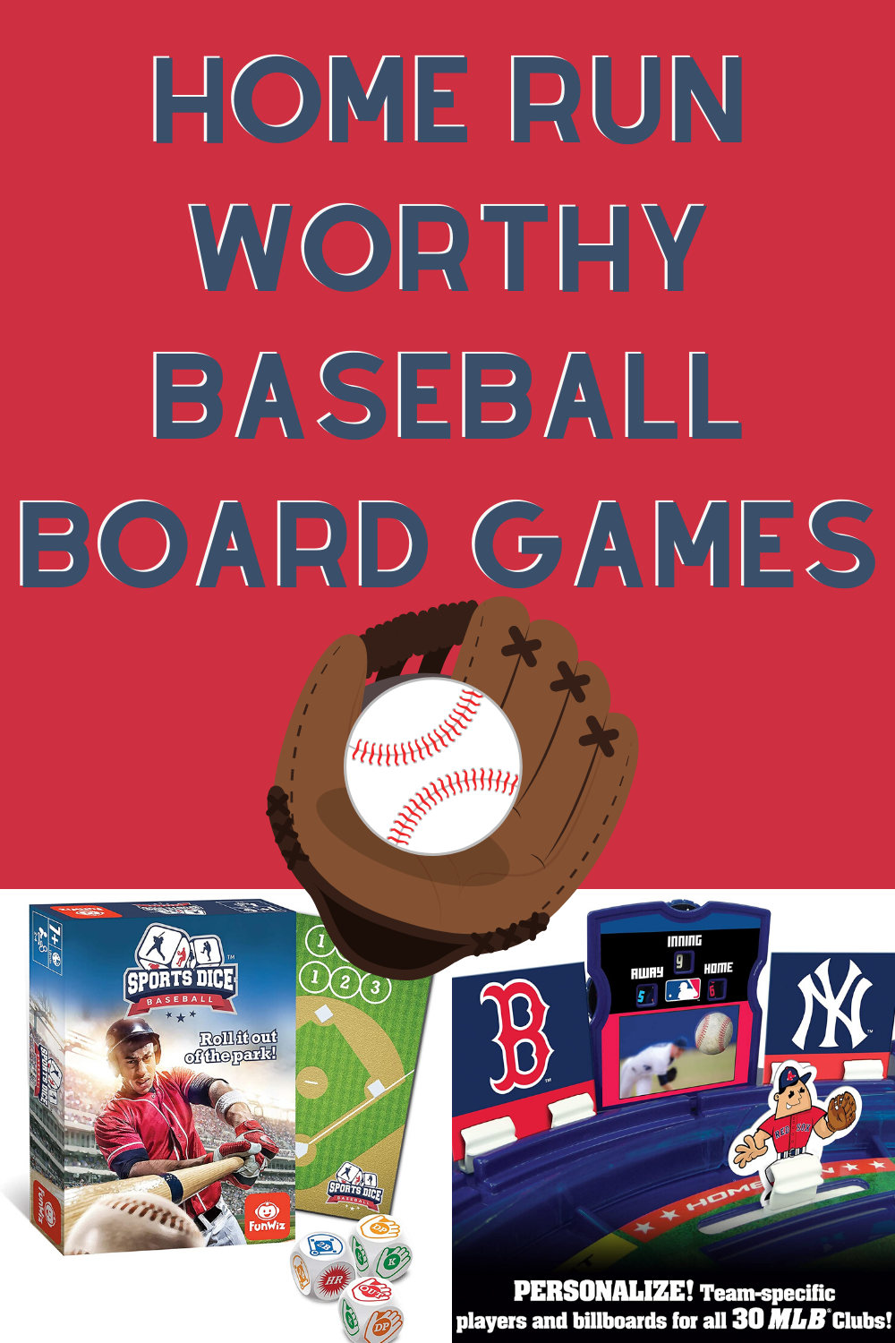 Baseball Board games