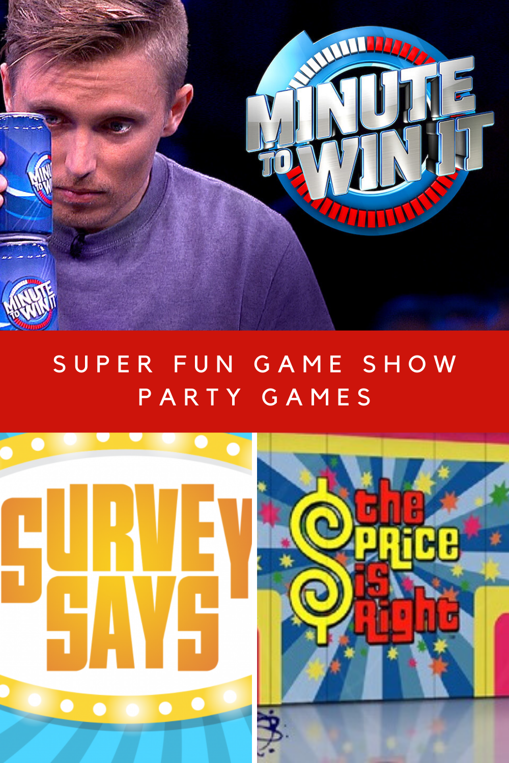 Game show games for parties