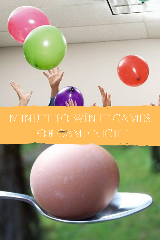 Game Game Night Ideas