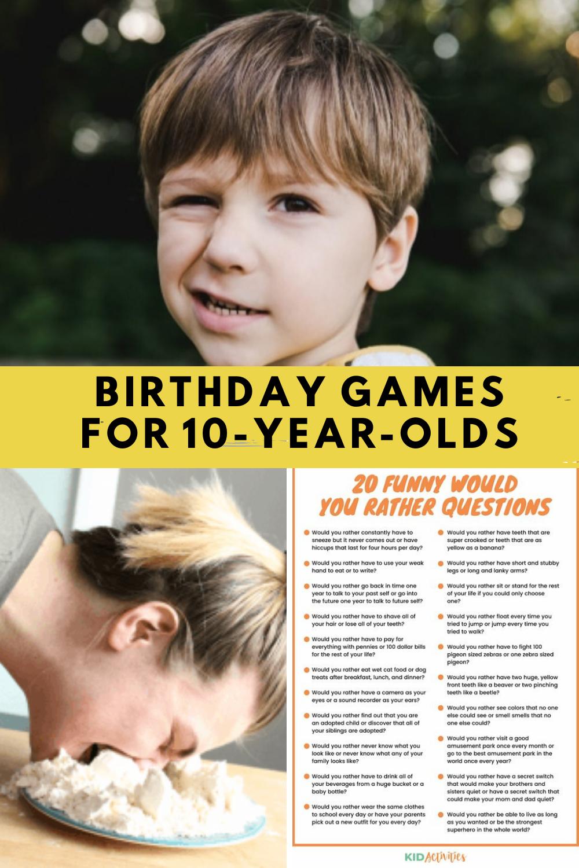 Fun Birthday Party Games