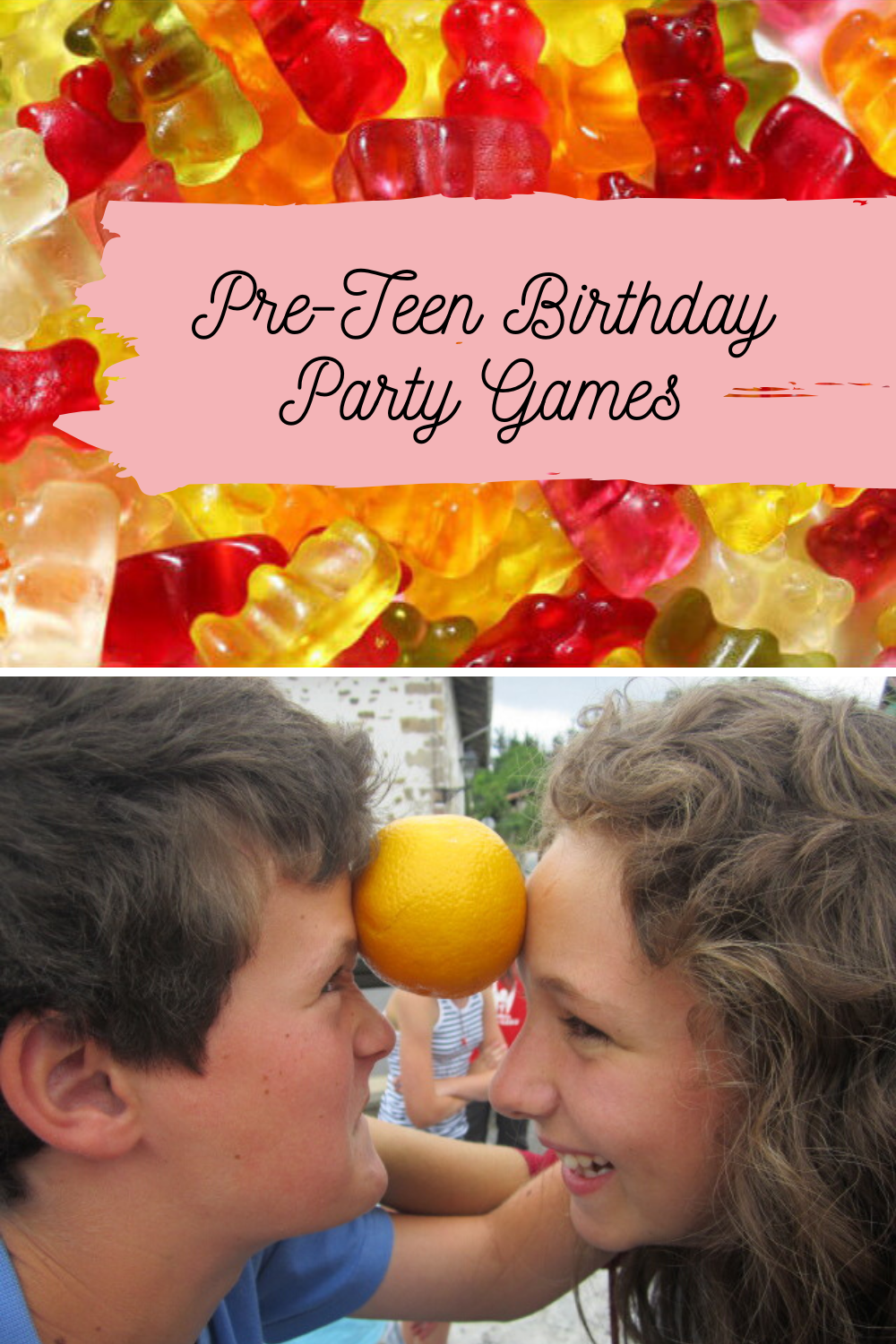 Pre Teen Birthday Party Games