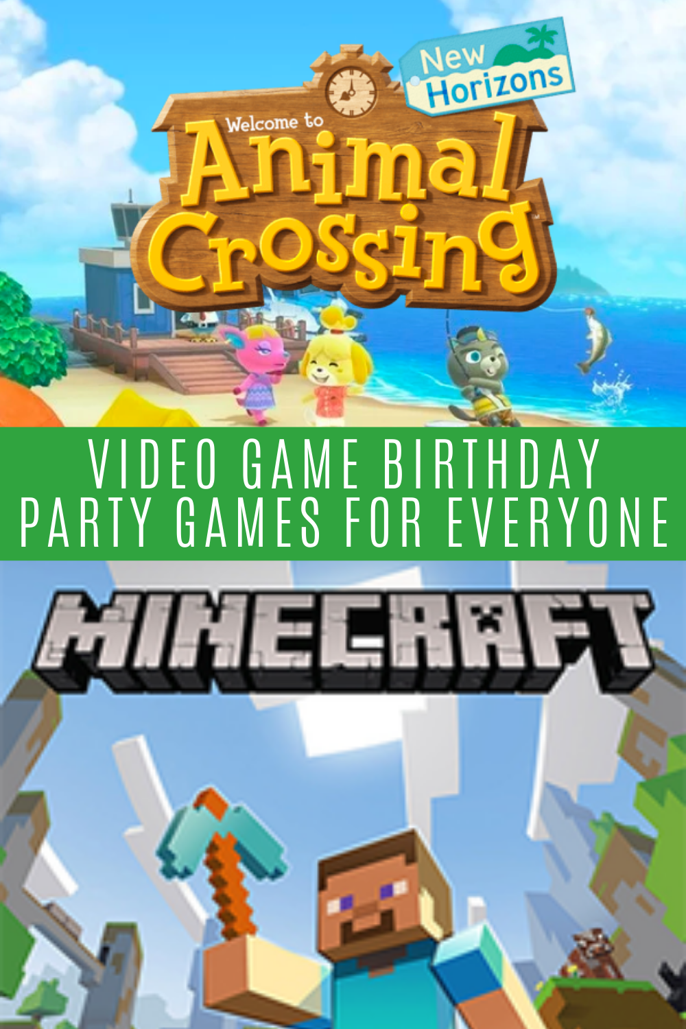 Video Game Birthday Party Games
