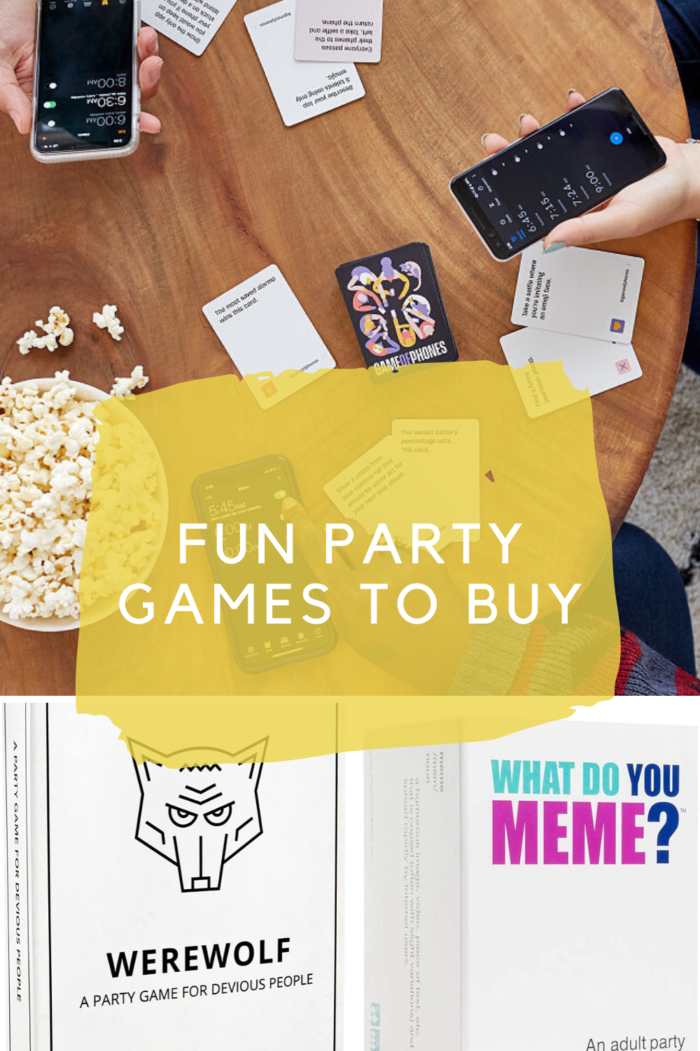 Fun Party Games to Buy