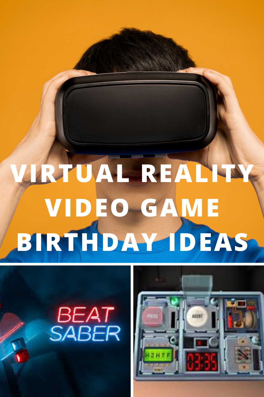 Virtual Reality Game Ideas