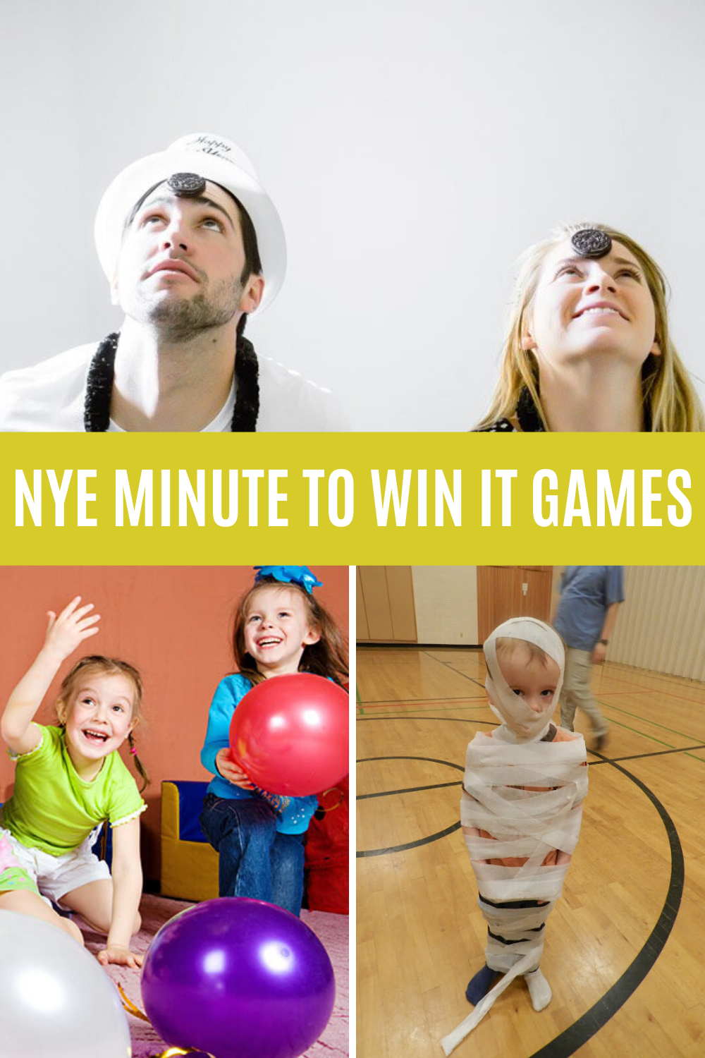 New Years Eve Minute To Win It Games for Family