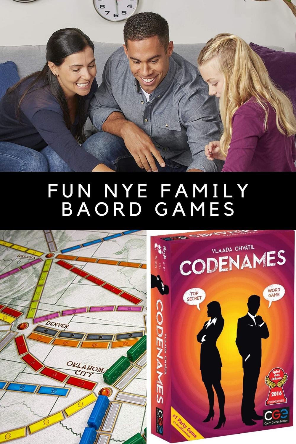 Fun Board Games For Playing on New Years Eve