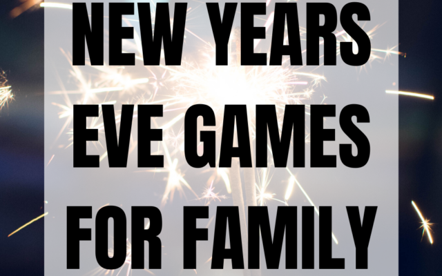 New Years Eve Games for Family