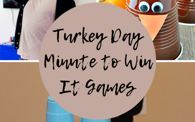 Minute to Win It Thanksgiving Games