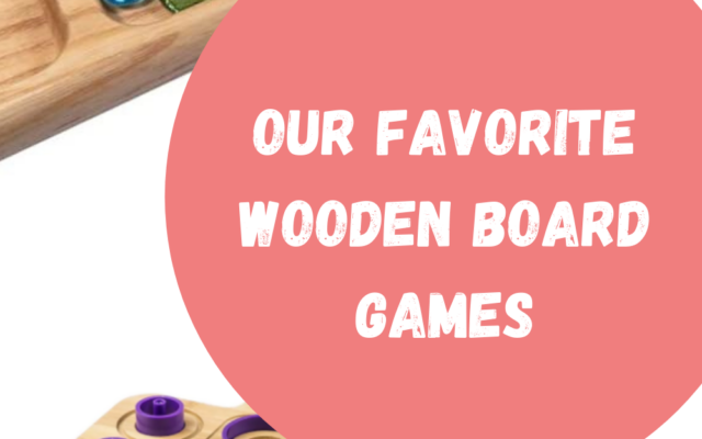 Favorite Wooden Board Games