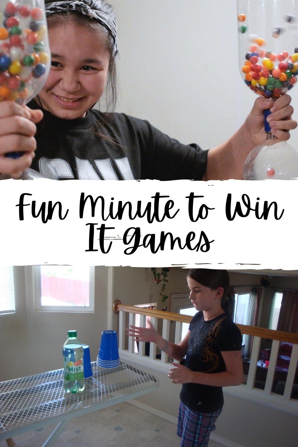 Minute to Win It NYE Games for Kids