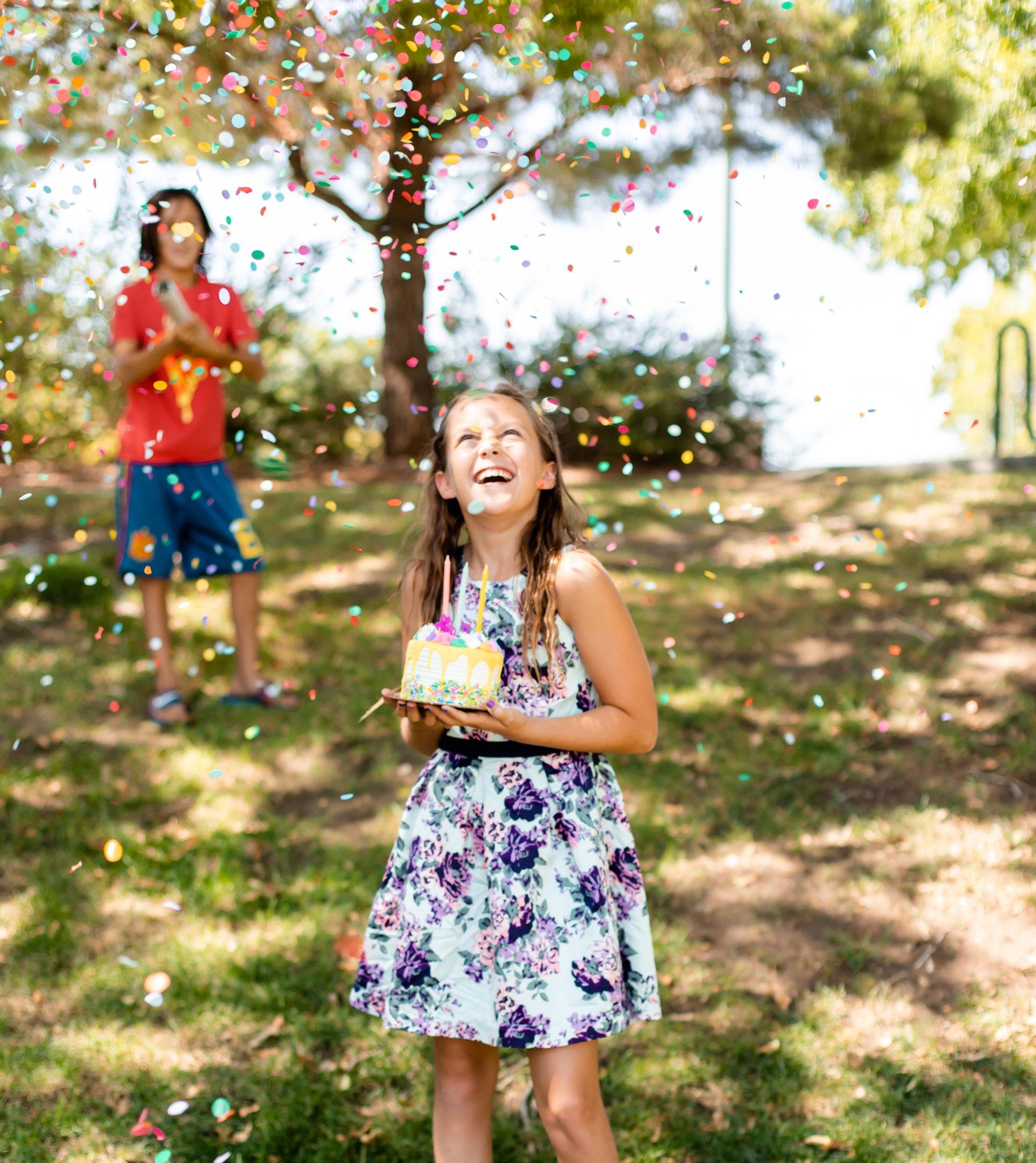 Confetti Cannons make parties more fun