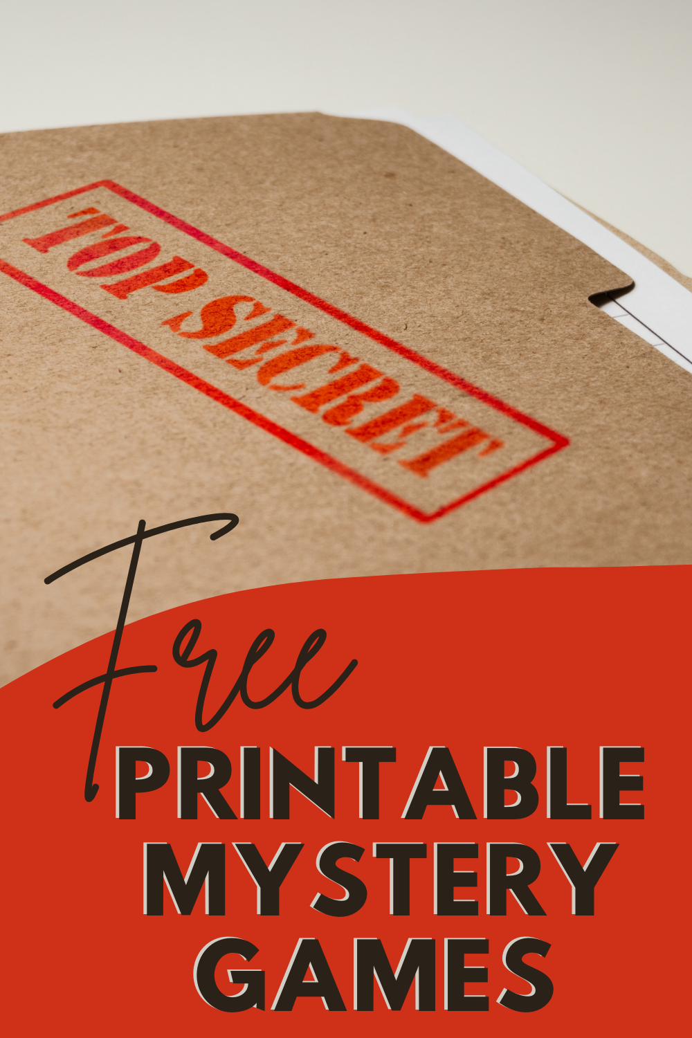 Free Printable Mystery Games