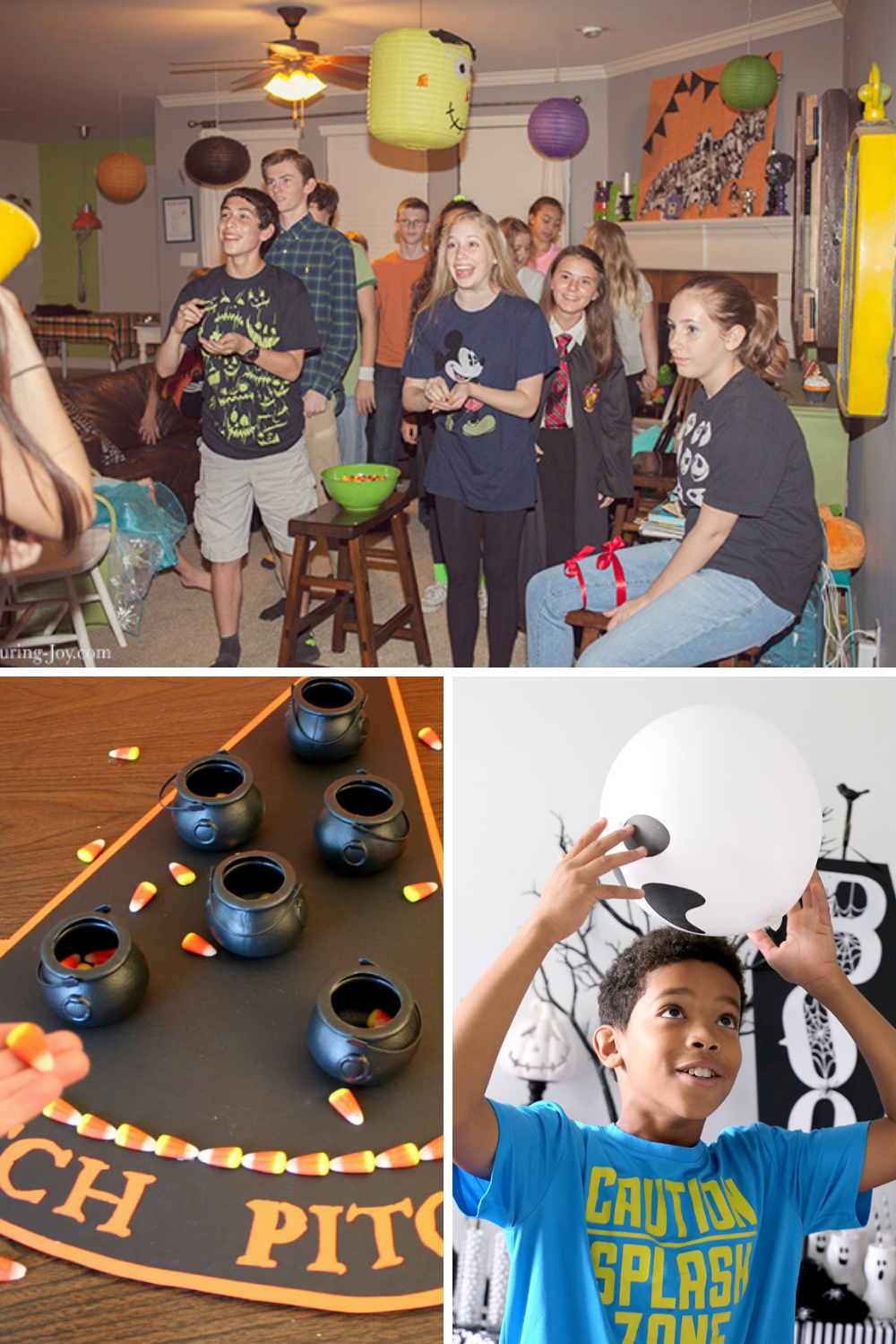Halloween Party Games for Tweens and teens