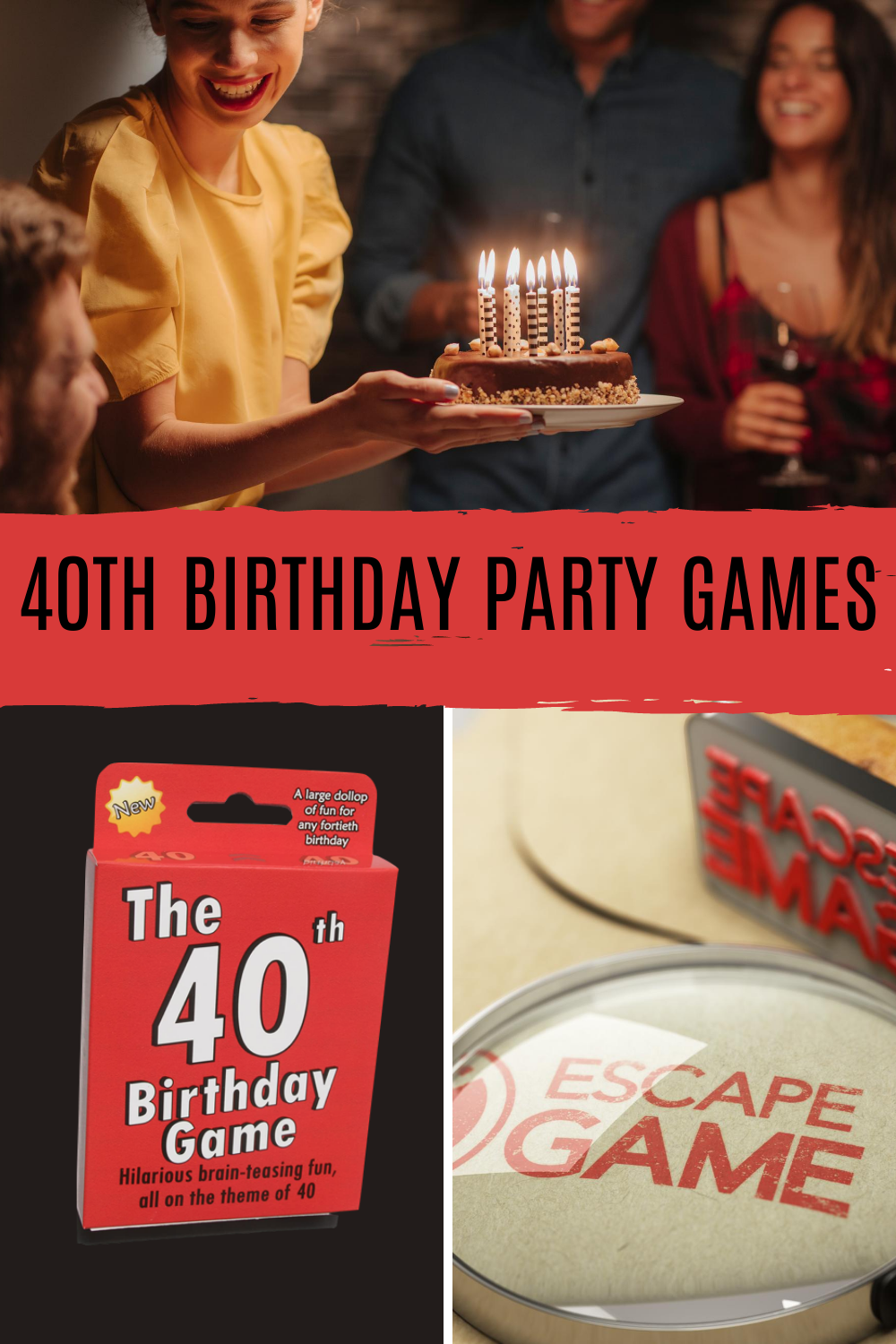 40th Birthday Party Games For Groups