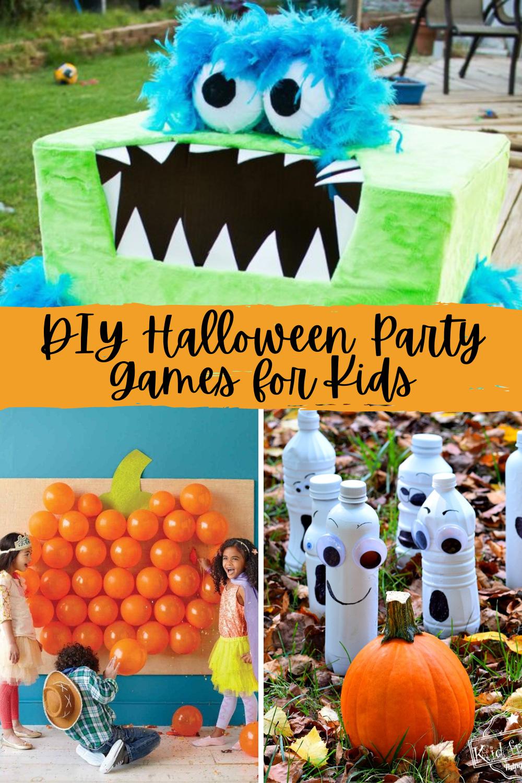 DIY Halloween Party Games