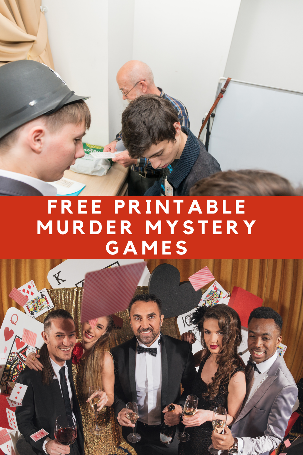 Free Printable Murder Mystery Games