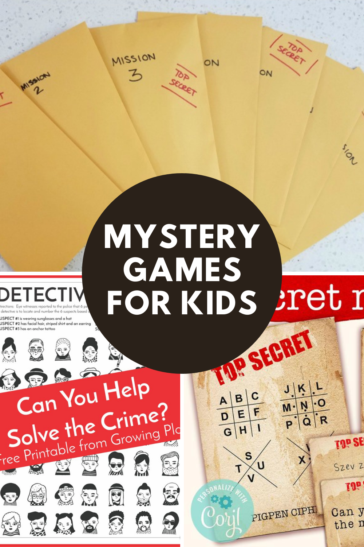Kids Detective Games