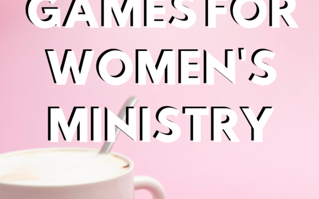 Printable Games for Women's Ministry