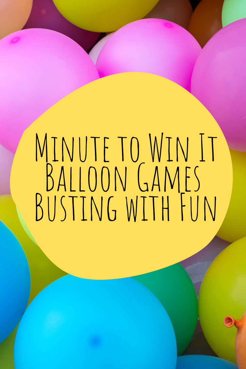 Minute to Win It Balloon Games