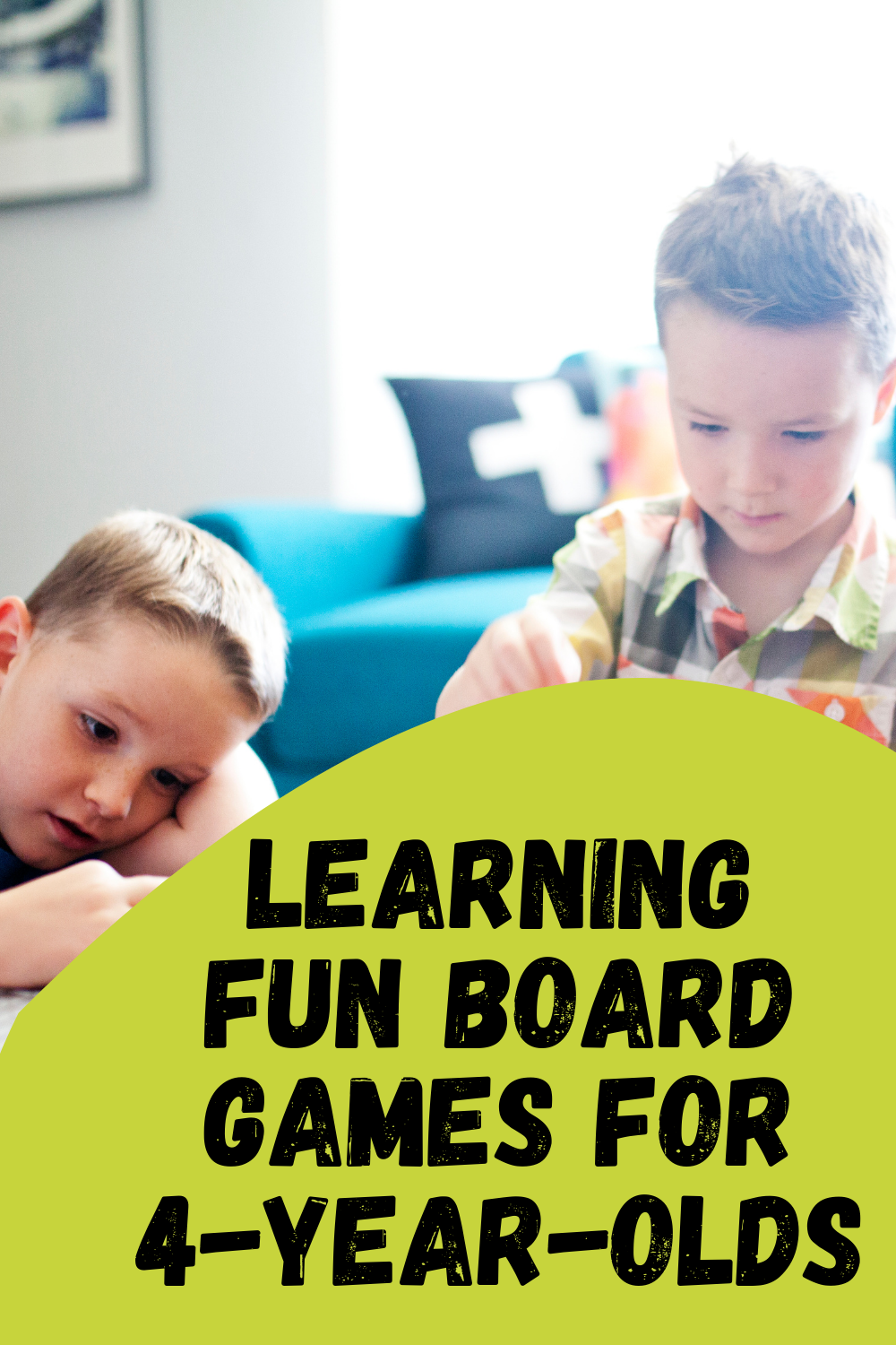 Board Games for 4-Year-Olds