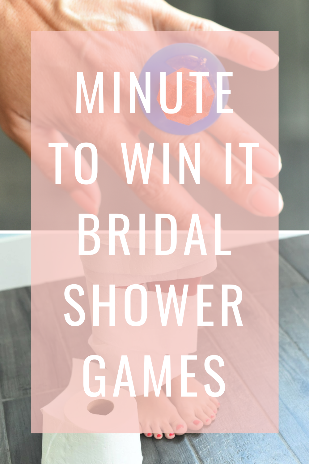 Minute to Win It Bridal Shower Games