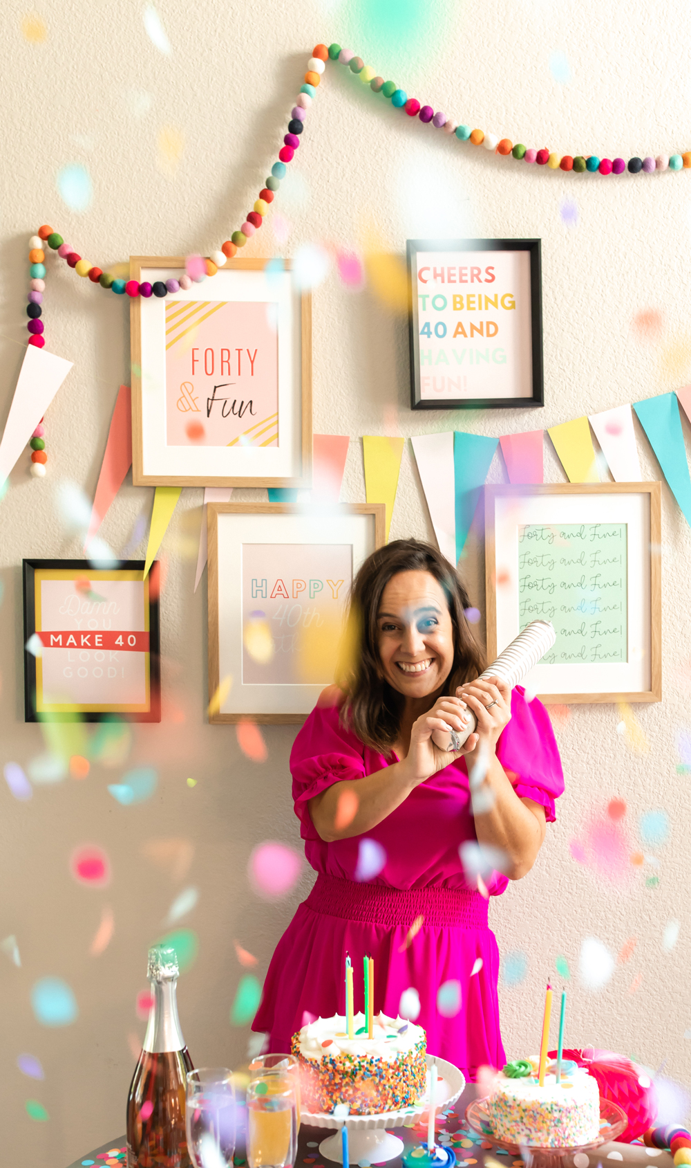 40th birthday party games & activities ideas