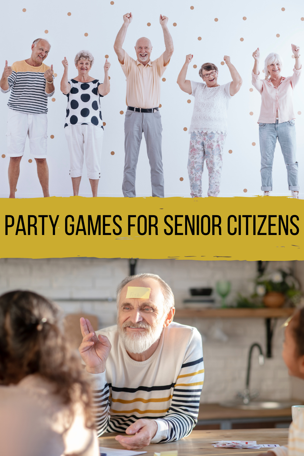 Party Games for Senior Citizens