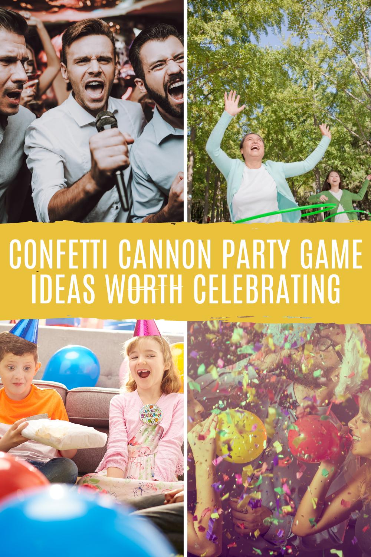 Biodegradable Confetti Cannon Game Ideas