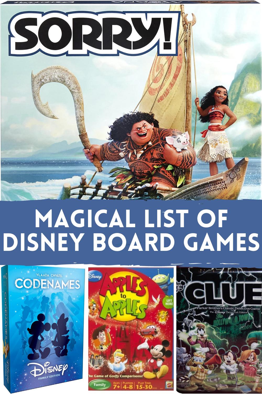 Best Disney Board Game Ideas
