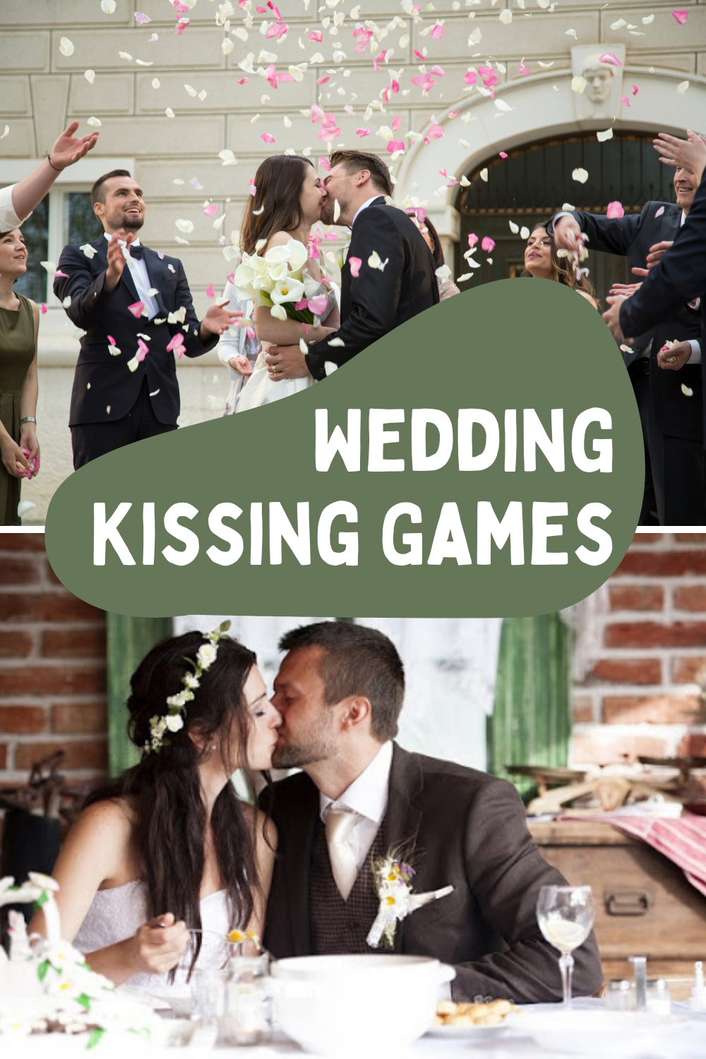 Wedding Kissing Game
