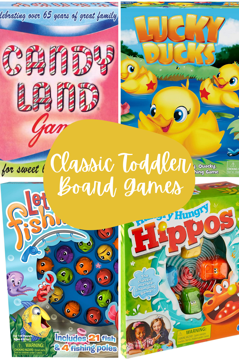 Classic Toddler Games