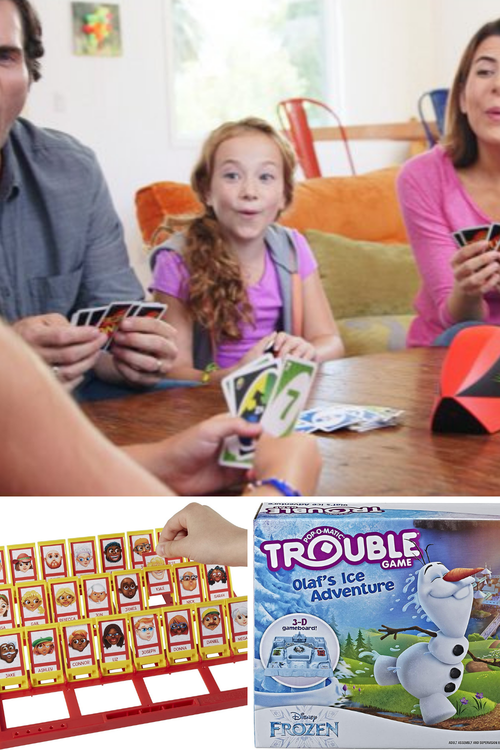 Family Night Board Games for 6 Year Olds