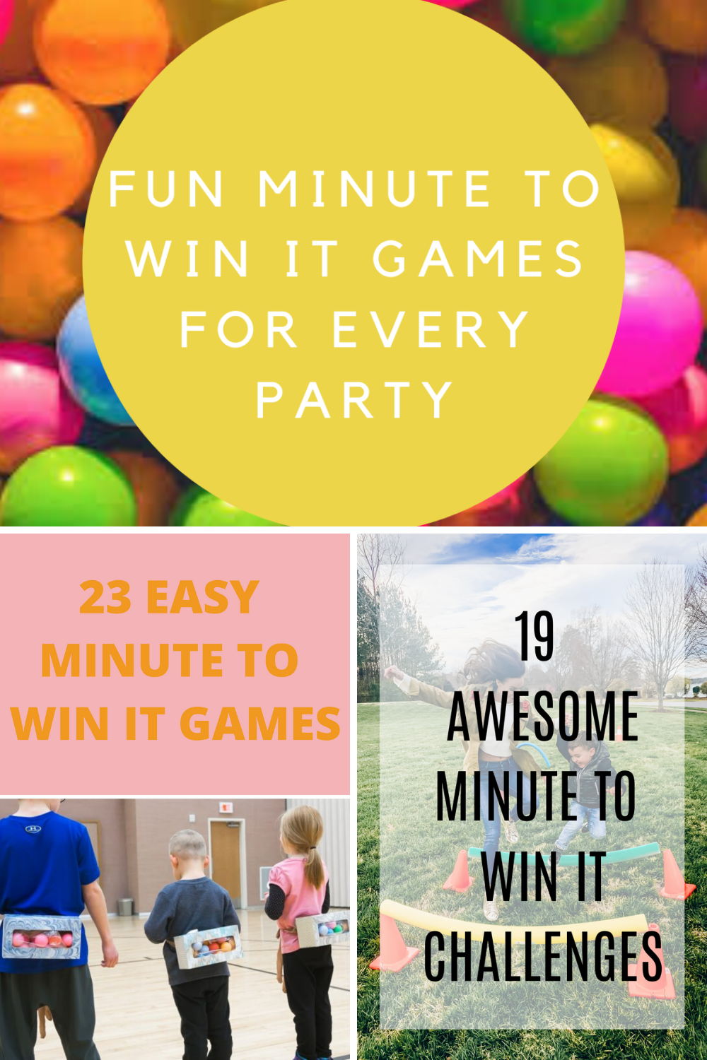 how to host a minute to win it party